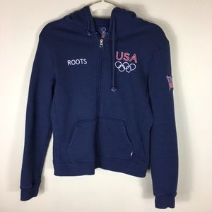 Roots official USA Olympics hoodie jacket small